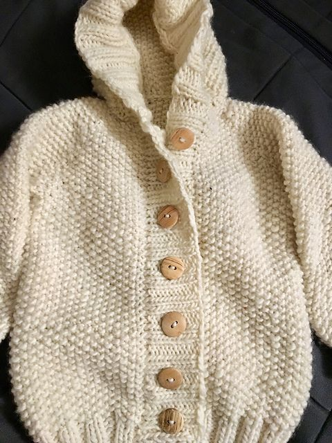 Manda Ruth by Jane Richmond | malabrigo Worsted in Natural | babies ...