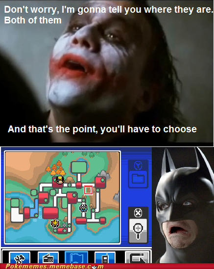 The Dark Knight Plays Soul Silver