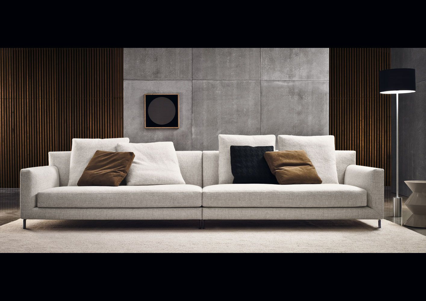 allen sofa designed by rodolfo dordoni manufactured by. Black Bedroom Furniture Sets. Home Design Ideas
