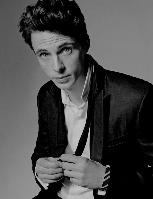 A young Matthew Goode, model