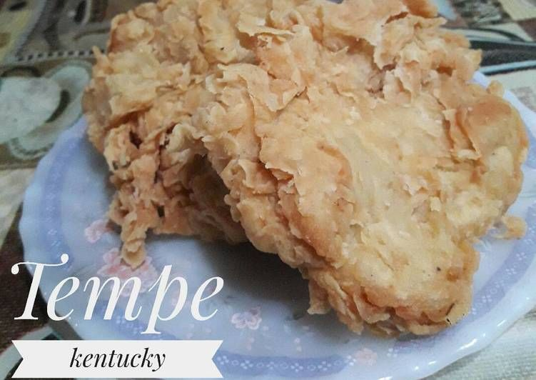 Resep Tempe Kentucky Oleh Pawon Mair Irma Rahmawati Resep Resep Tempe Resep Masakan Makanan Dan Minuman