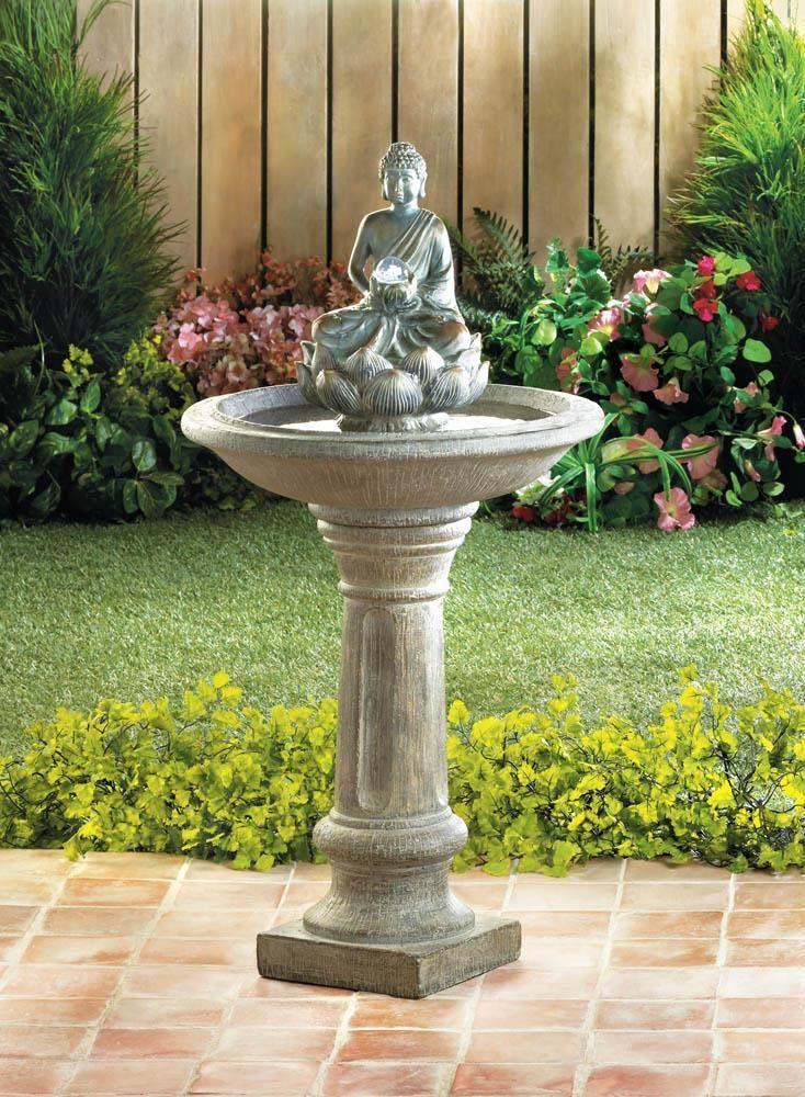 Buddha pedestal water fountain water fountains fountain and buddha buddha pedestal water fountain workwithnaturefo