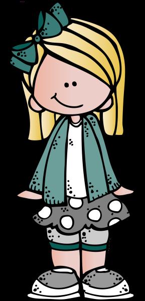 Melonheadz Blonde Hair Girl Clip Art Kids Clipart Clip Art Melonheadz Clipart