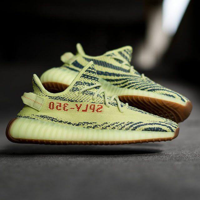 9fdb8cf3f5f7b Adidas Yeezy Boost 350 V2 Semi Frozen Yellow