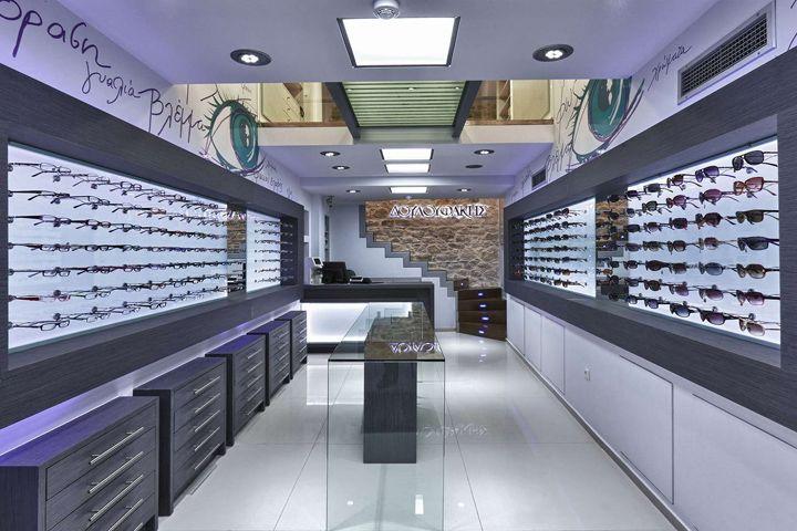 Douloufakis Optical Store By Lefteris Tsikandilakis, Heraklion U2013 Greece »  Retail Design Blog