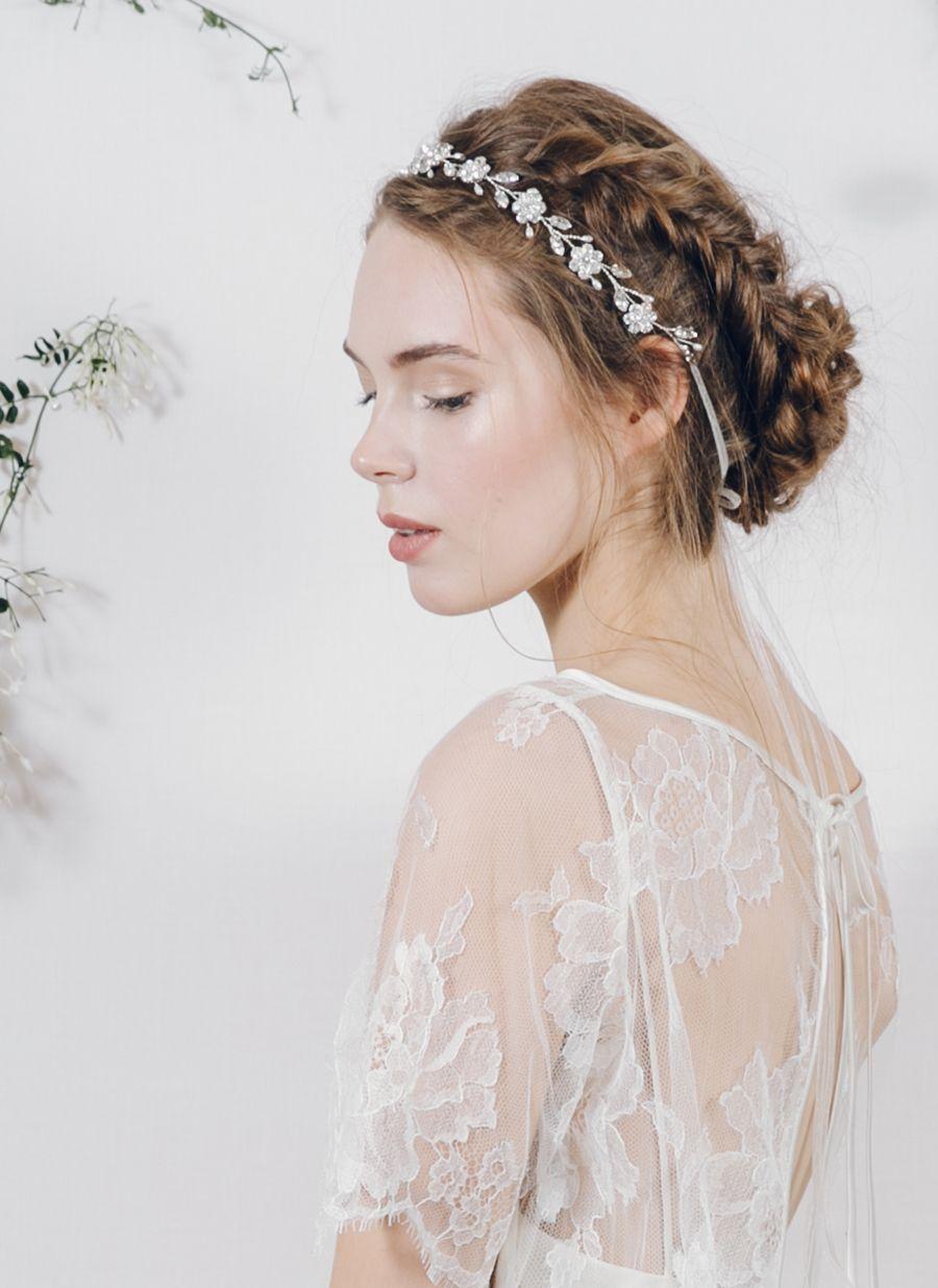 Hair accessories headbands uk - Enchanting Ethereal Bridal Headpieces By Debbie Carlisle Secret Garden Wedding Hair Accessorieshair