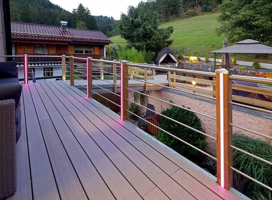 Balcony Armor High Performance Composite Board Holz Ideen