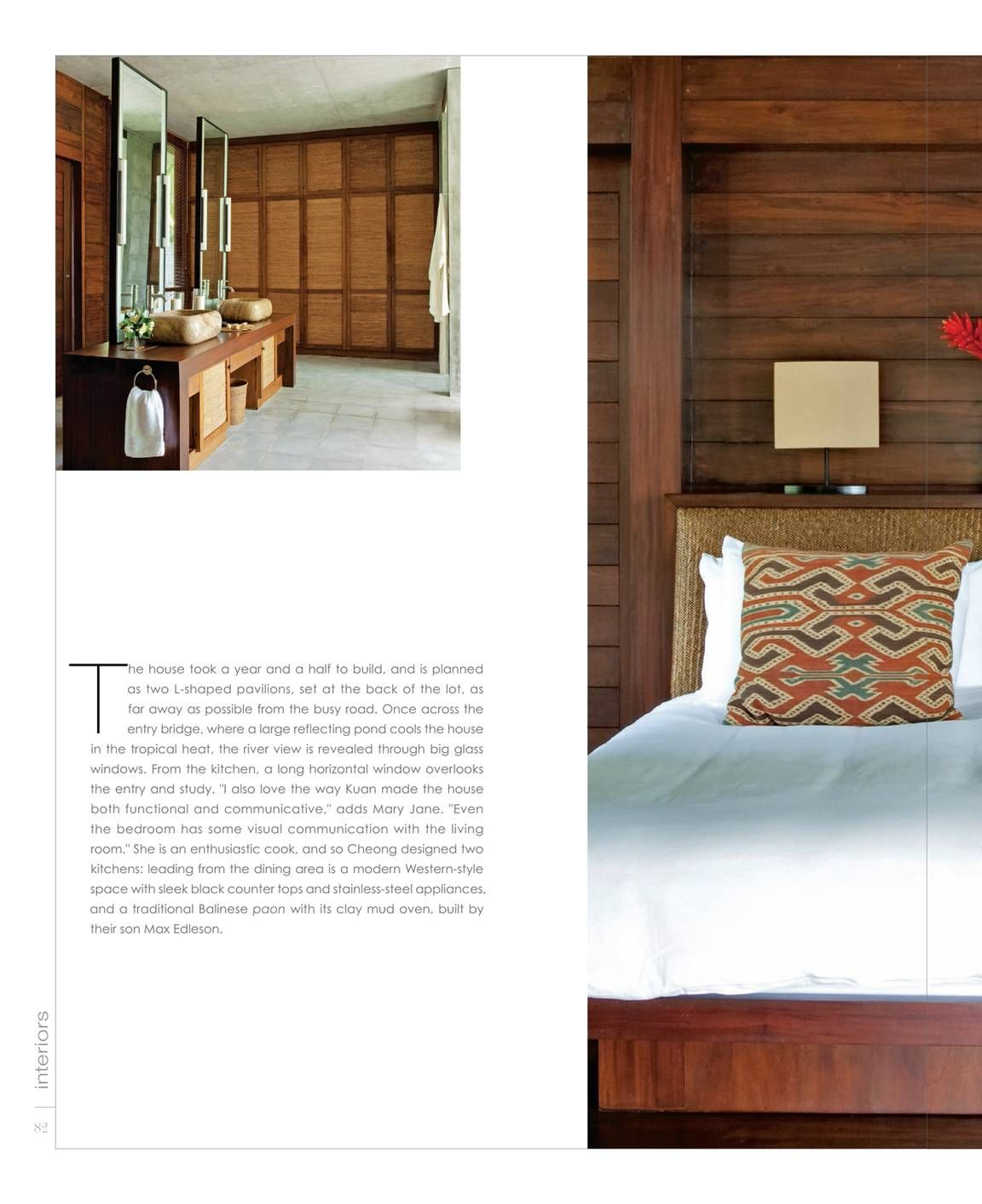 Residential Interior Design: Interiors Is The Only Magazine Specifically Targeted To