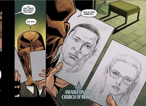 Panel from Chapter 4 of the Arrow Season 2.5 digital comics (10/13/14 issue)
