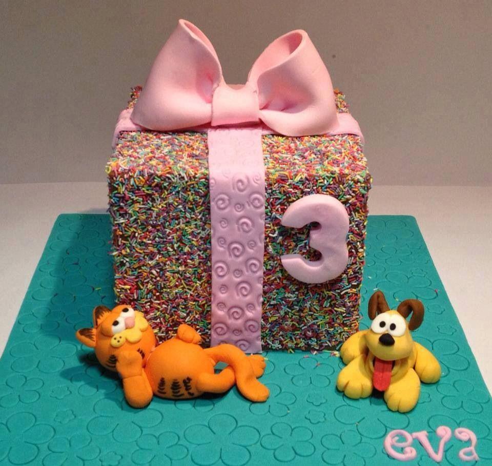 Sprinkle parcel cakes i like pinterest sprinkles cake designs