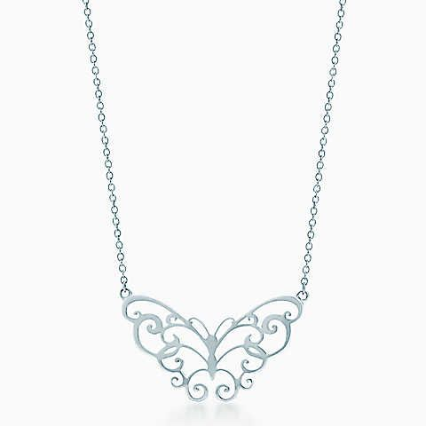 a28d8ac2a Tiffany Enchant® butterfly pendant in sterling silver.   Gift Ideas ...