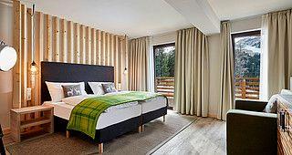Schlafzimmer Muster ~ Alpenwohnen schlafzimmer muster interior design