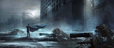 "Stunning ""Batman v Superman: Dawn of Justice"" Concept Art by Victor Martinez « Film Sketchr"