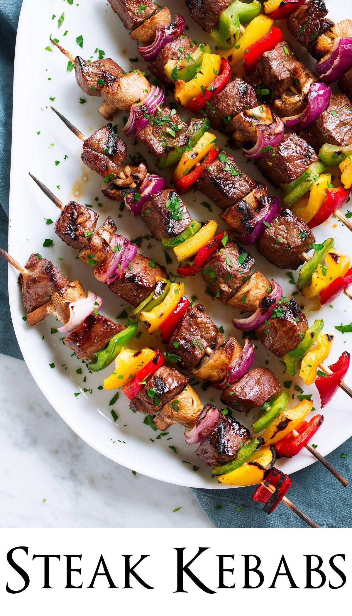 Steak Kebabs - A Flavorful Steak Recipe! - Cooking Classy