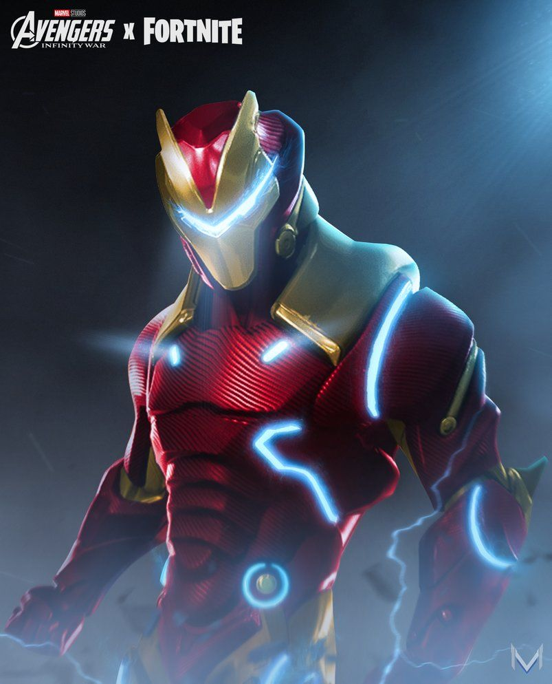 Fortnite X Marvel Ironman By Imizuri Deviantart With Images