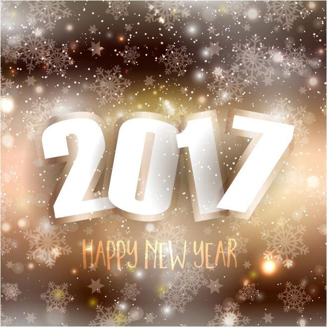 free vector Happy new Year 2017 Background http://www ...