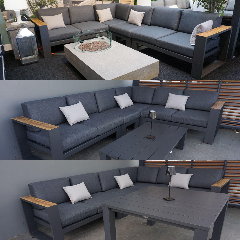 Salamanca Outdoor Corner Sofa Set In 2020 Corner Sofa Set Corner Sofa Outdoor Furniture Collections