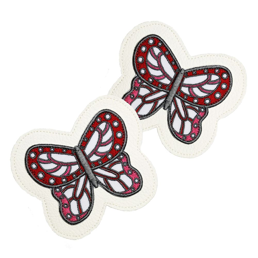 Customize your favourite sneakers with these hand made butterfly patches!