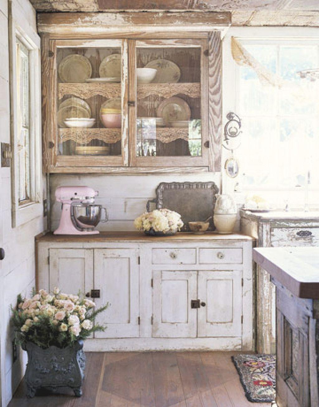 40 Shabby Chic Kitchen Decor Ideas 6