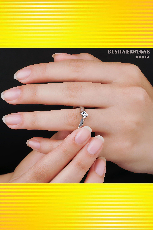 Round Diamond Ring 015ct Solitaire Ring Wedding Natural Etsy Diamond Gift Real Diamond Rings Round Diamond Ring