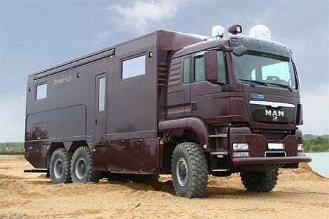 Man 6x6 Adventure Camper Overland Truck Expedition Vehicle