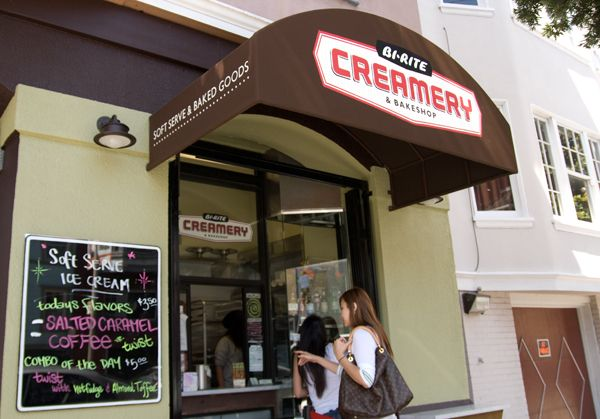 Bi Rite Creamery San Francisco Ca San Francisco Food San Francisco Restaurants Creamery