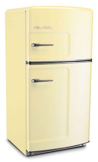 With Doors Reversed Retro Fridge Retro Refrigerator Retro Appliances