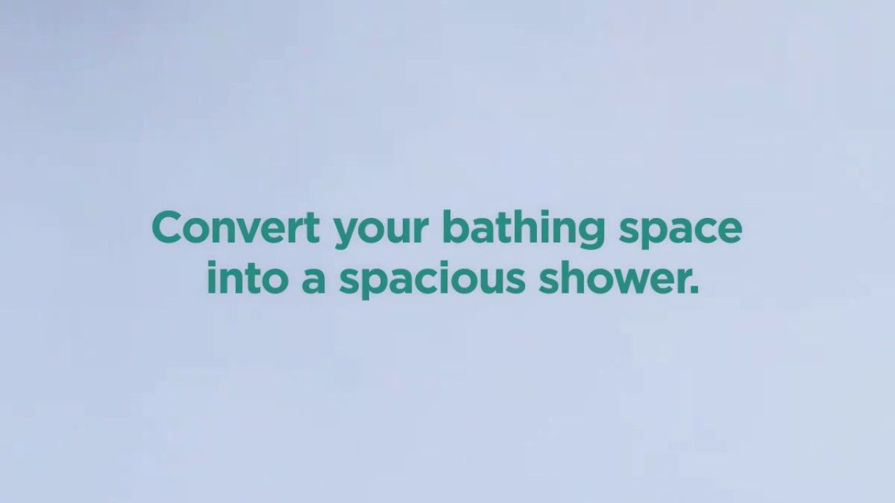 Transform your old tub into a luxurious shower!   Before and After ...