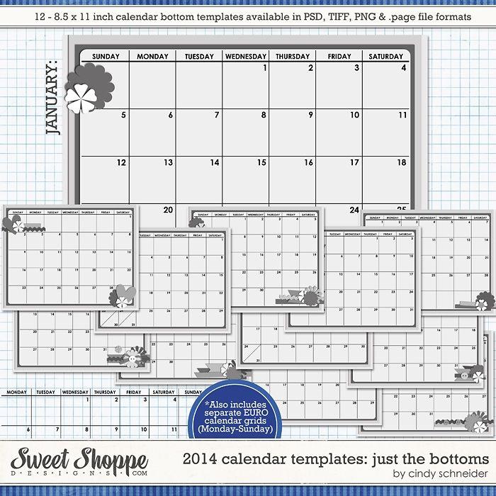 50 off Retirement Sale! Cindyu0027s Templates - 2014 Calendar - calendar templates