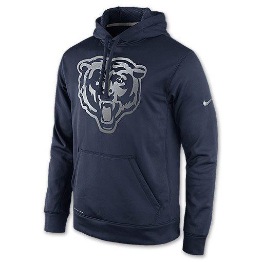 Men s Nike Chicago Bears NFL Reflective Hoodie - 778857 459  eada2bbbb256