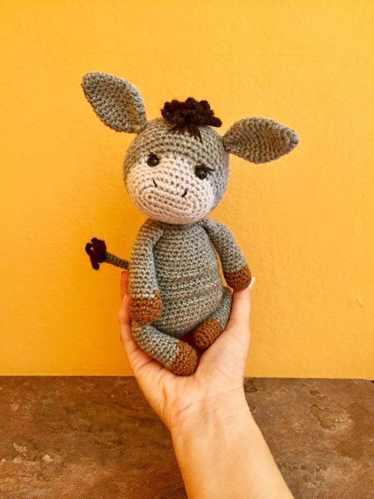 Carino peluche ciambella crochet giocattoli Amigurumi