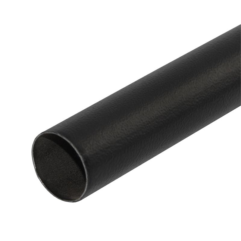 Pillar Products 25 X 25mm X 3m Curtain Rod Black Curtain Rods