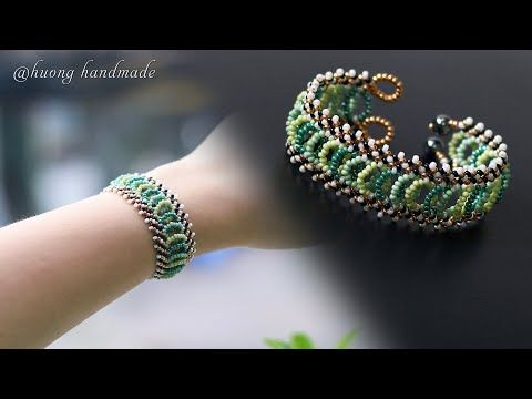 Photo of Lattice beaded bracelet DIY. How to make jewelry