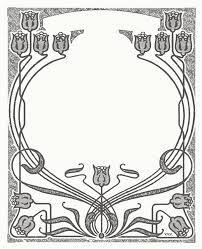 Výsledek obrázku pro art nouveau patterns