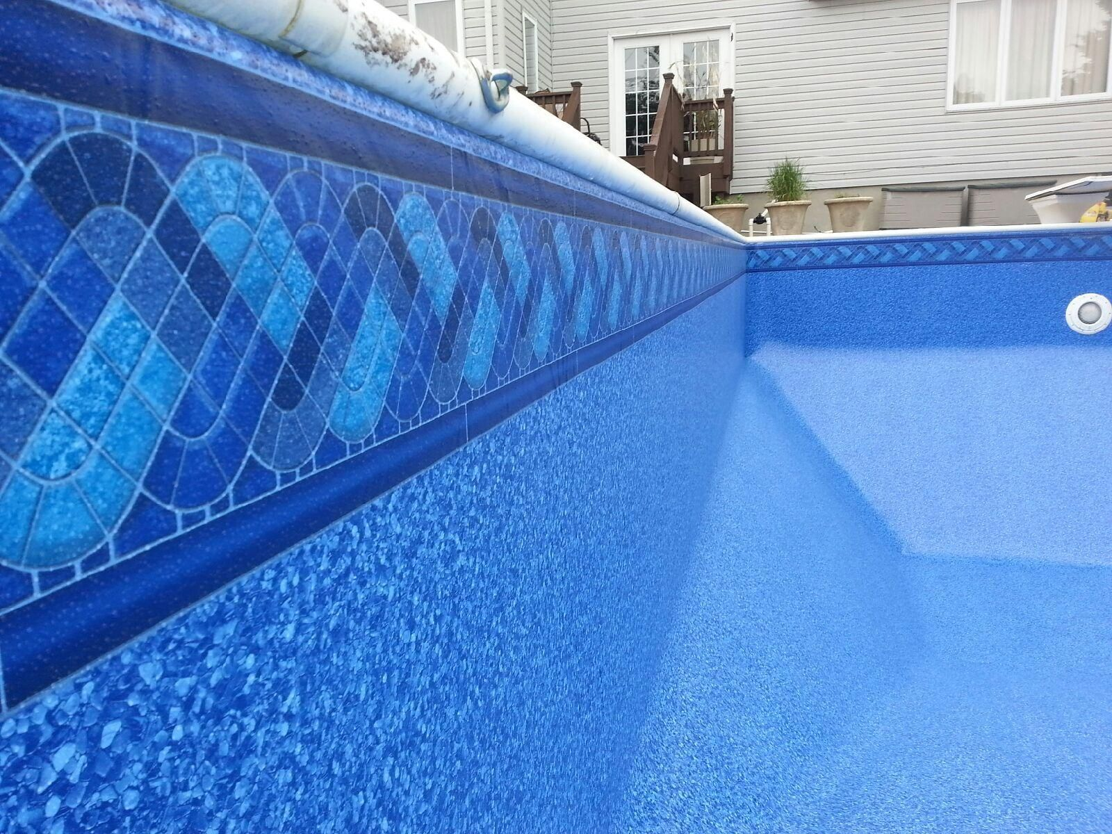 Pin by scott rader on pool pinterest tile ideas and for Blue pond liner