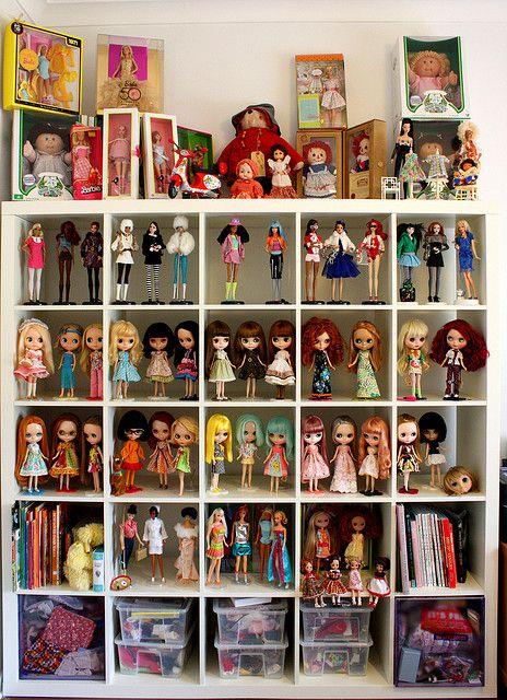 Gorgeous doll arrangement.