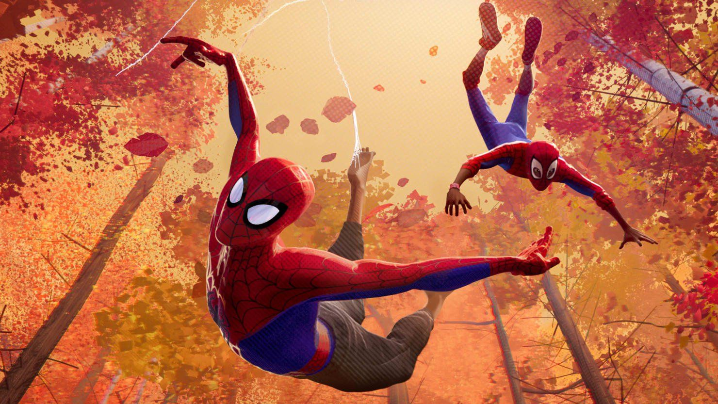 Spider Man Into The Spider Verse Is A Radical Reimagining Of The Superhero Film Animated Spider Spider Verse Spiderman