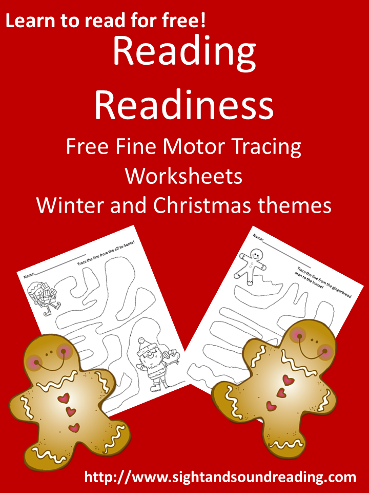 free reading readiness tracing worksheets mrs karle 39 s sight and sound reading tracing. Black Bedroom Furniture Sets. Home Design Ideas