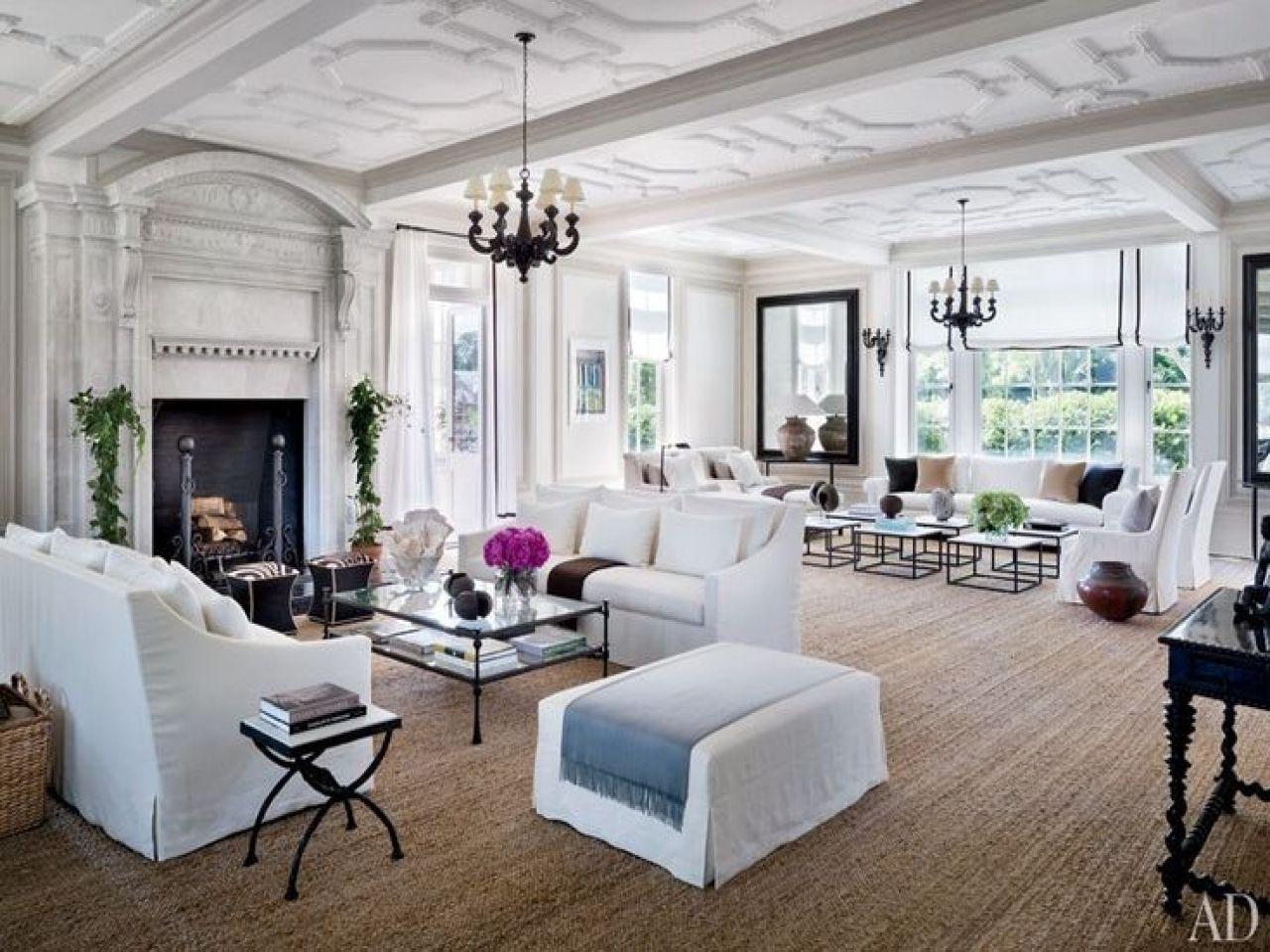 hamptons-style-living-room-jute-rugs.jpg (1280×960) | Livingroom ...