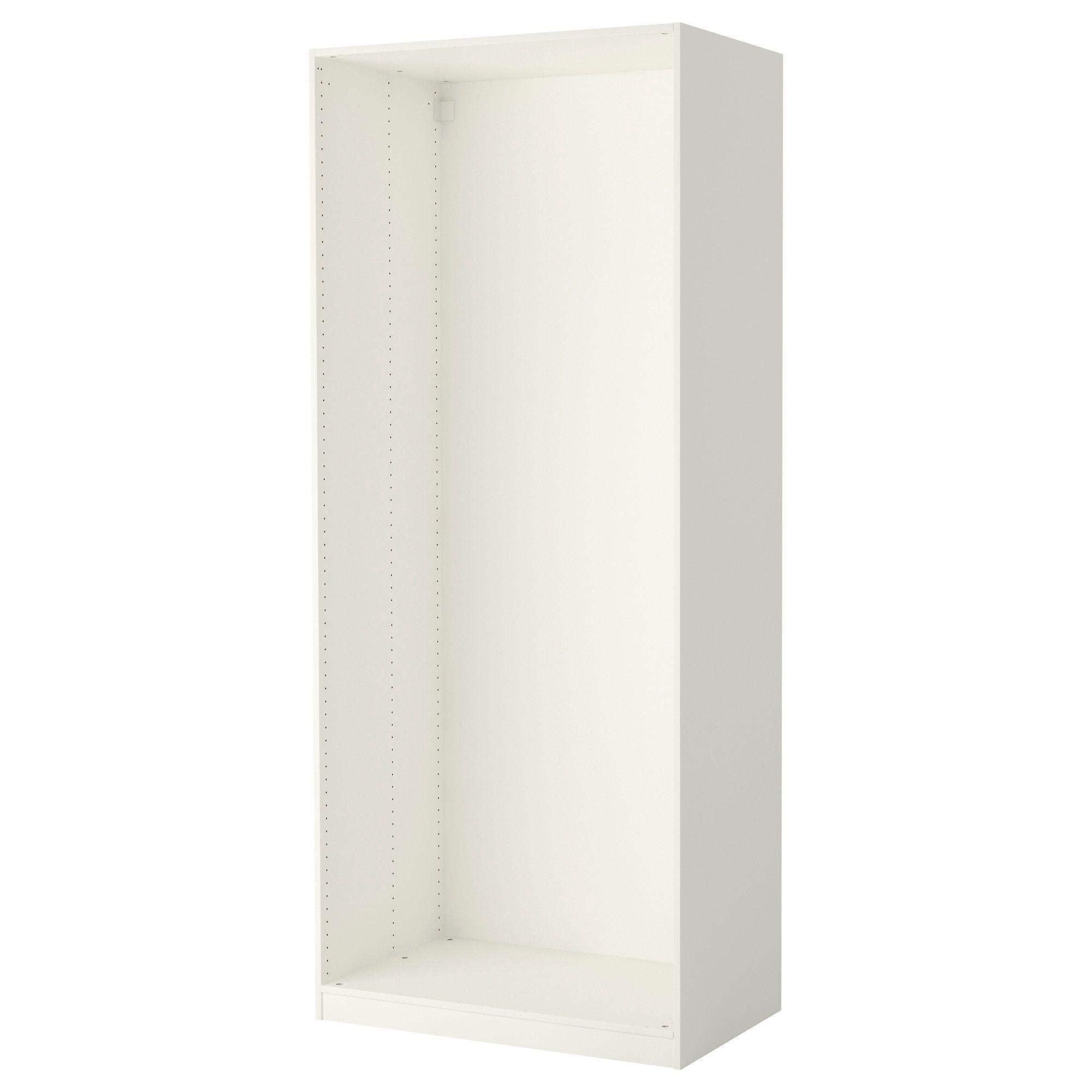 Pax Caisson D Armoire Blanc Buanderie Cellier Ikea Penderie