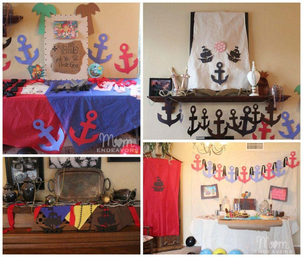 Attractive Pirate Theme Party Decoration Ideas Part - 14: Pirate Party DIY Decor @Sara Eriksson Eriksson Eriksson {Mom Endeavors}.com