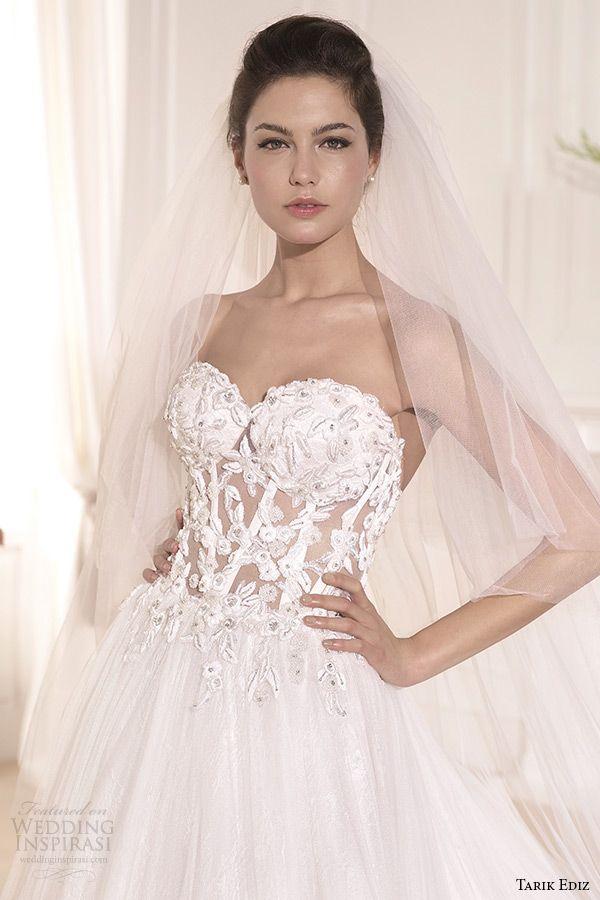 Tarik Ediz White 2014 Wedding Dresses — Part 2 | Wedding dress ...