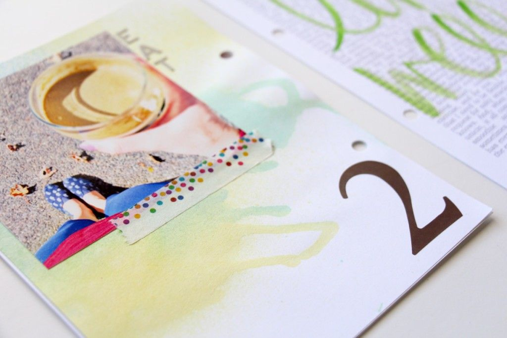 30 Days of Thankful 6x8 Mini Book | 2015 Gratitude Project by Julie Gagen, How I Sustain Blog