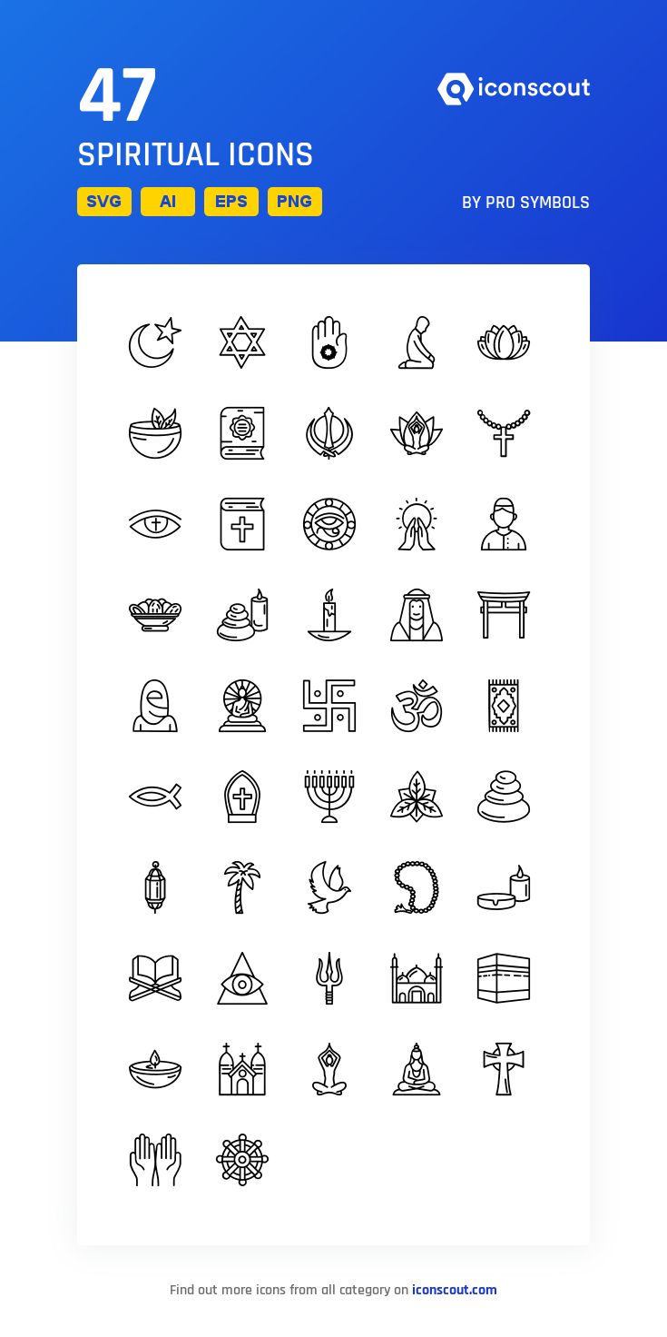 Download Spiritual Icon Pack Available In Svg Png Eps Ai Icon Fonts Icon Pack Space Icons Wedding Icon