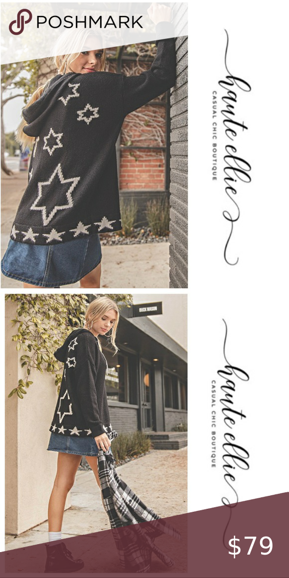 Starry Night Hooded Sweater