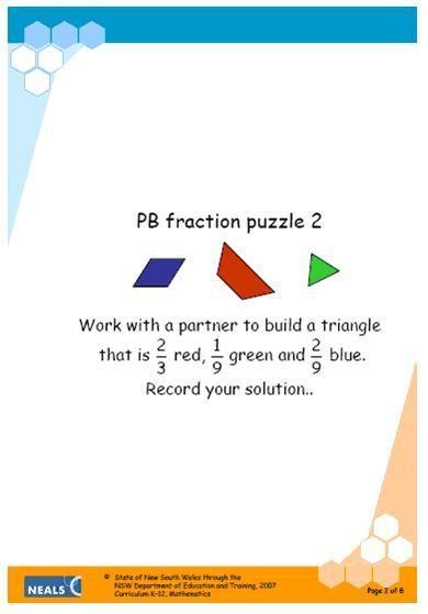 math worksheet : 1000 images about mathematics  pattern blocks on pinterest  : Pattern Block Fractions Worksheet
