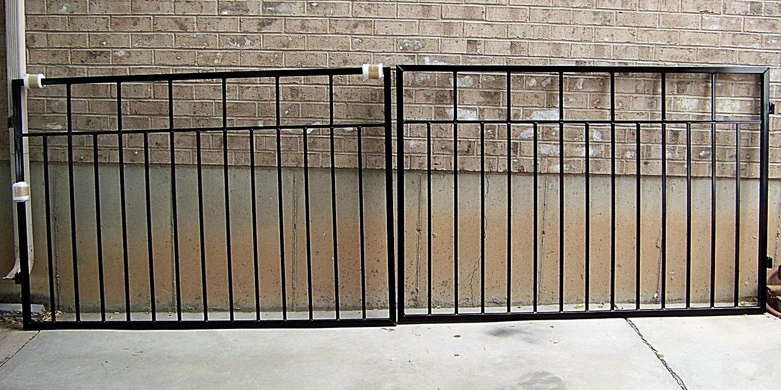Garden Gates 139948 Driveway Gate 10 Foot Wide 4 High Double Swing Special Price Buy It Now Only 959 On Ebay Ga Driveway Gate Double Swing Garden Gates