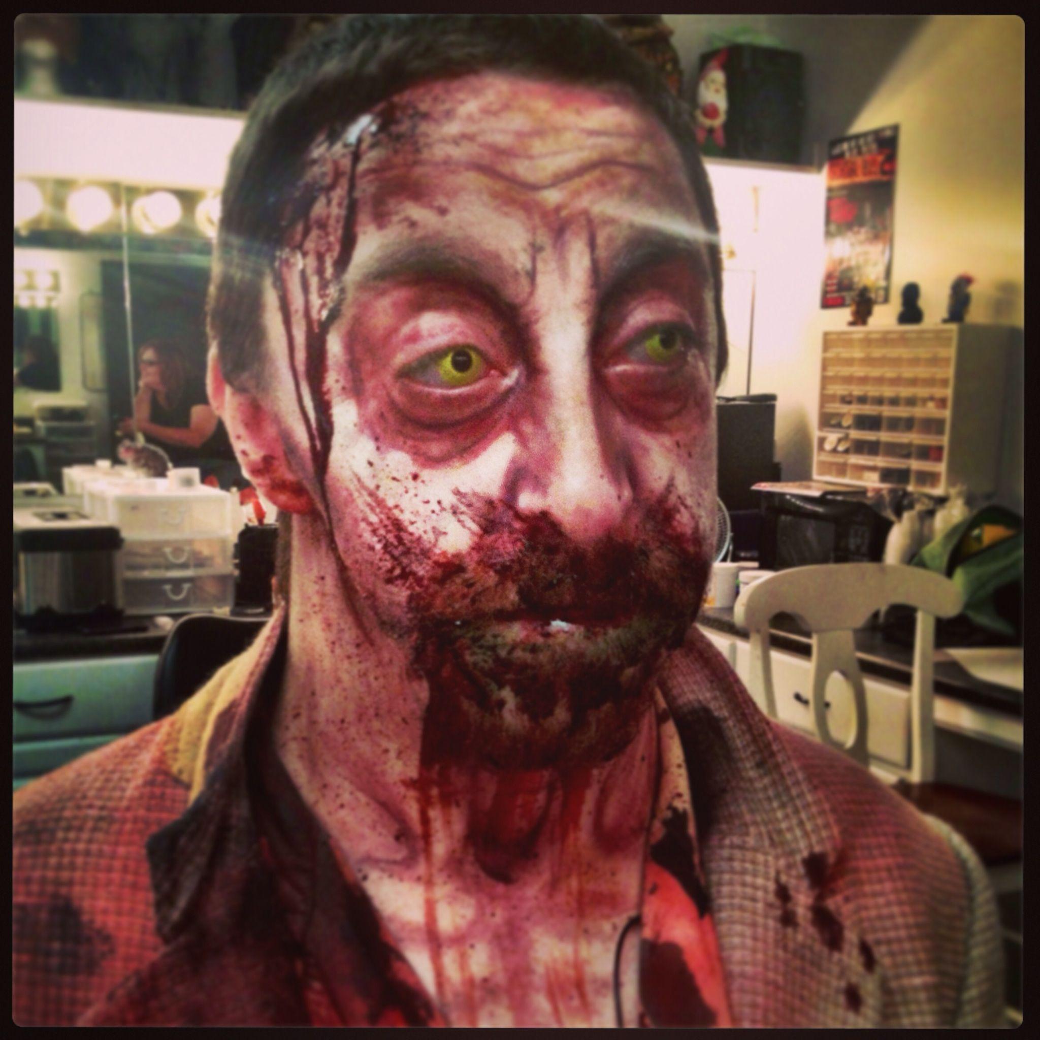 halloween zombie makeup. the dent schoolhouse cincinnati ohio