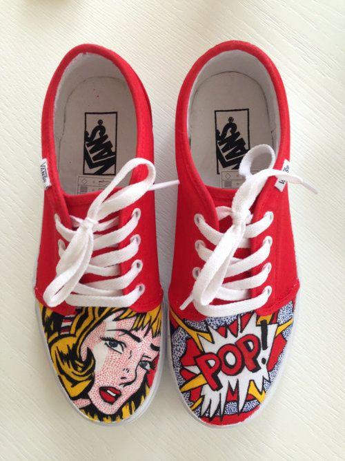 c736d7f158 Customized sneakers vans
