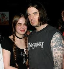 Phil Anselmo with kind, Wife Kate Richardson